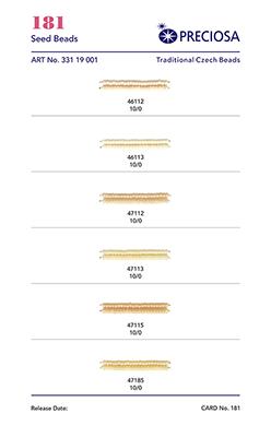 Produktová karta 0181