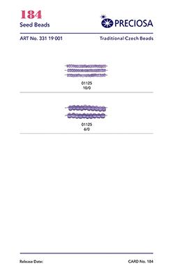 Produktová karta 0184